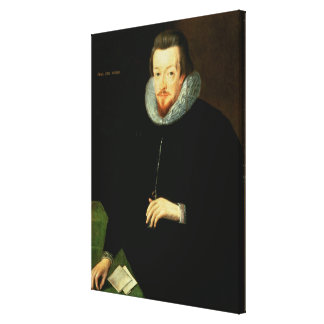 Portrait of Sir Robert Cecil (1563-1612) 1st Visco Gallery Wrap Canvas