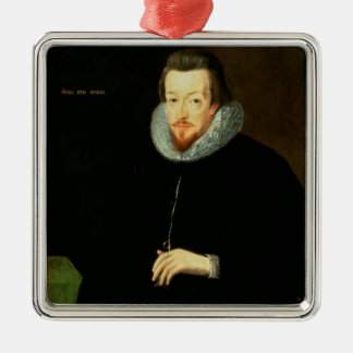 Portrait of Sir Robert Cecil (1563-1612) 1st Visco Metal Ornament