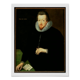Portrait of Sir Robert Cecil (1563-1612) 1st Visco Poster