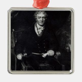 Portrait of Sir Robert Peel Metal Ornament