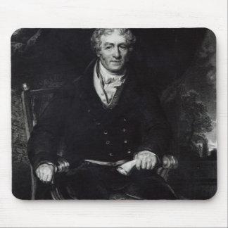 Portrait of Sir Robert Peel Mouse Pad