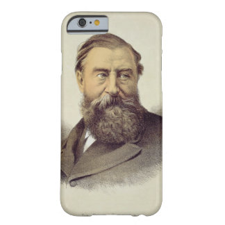 Portrait of Sir Samuel Baker (1821-93) (colour lit Barely There iPhone 6 Case