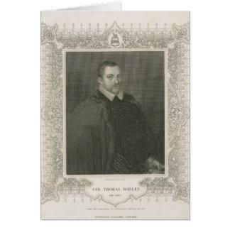 Portrait of Sir Thomas Bodley Card