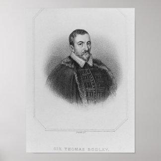 Portrait of Sir Thomas Bodley Poster