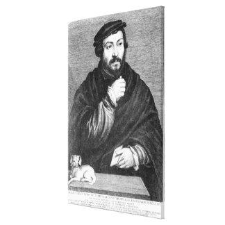 Portrait of Sir Thomas More Canvas Print