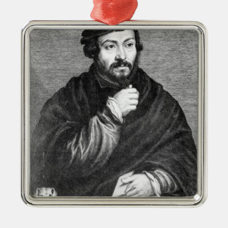 Portrait of Sir Thomas More Metal Ornament
