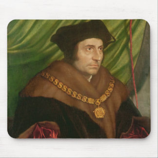 Portrait of Sir Thomas More Mouse Pad