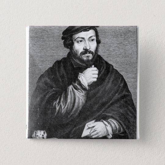 Portrait of Sir Thomas More Pinback Button