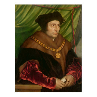Portrait of Sir Thomas More Post Cards