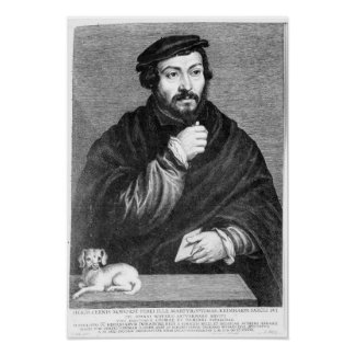Portrait of Sir Thomas More Posters