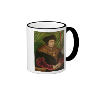 Portrait of Sir Thomas More Ringer Coffee Mug