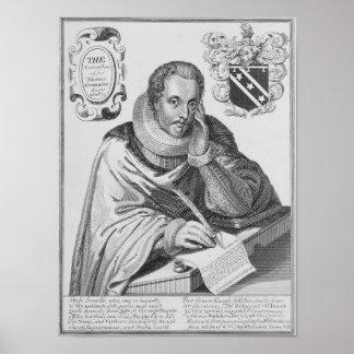 Portrait of Sir Thomas Overbury Poster