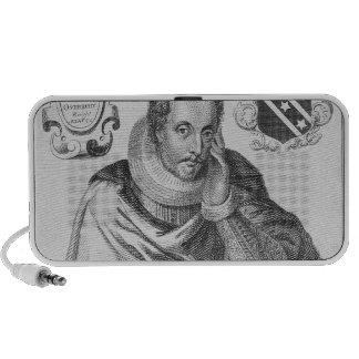 Portrait of Sir Thomas Overbury iPhone Speakers