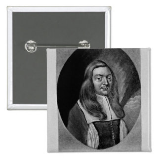 Portrait of Sir Thomas Pilkington Pinback Button