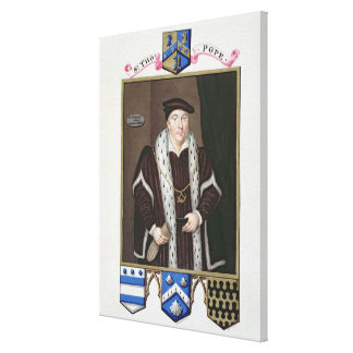 Portrait of Sir Thomas Pope (c.1507-99) from 'Memo Canvas Print