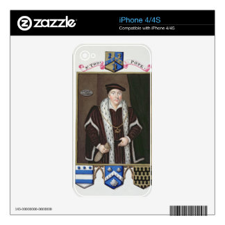 Portrait of Sir Thomas Pope (c.1507-99) from 'Memo Decal For The iPhone 4