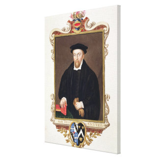 Portrait of Sir Thomas Smythe (c.1558-1625) from ' Stretched Canvas Prints