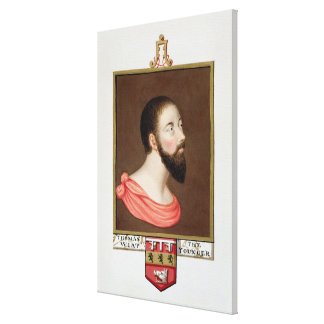 Portrait of Sir Thomas Wyatt the Younger (c.1521-5 Canvas Print