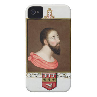 Portrait of Sir Thomas Wyatt the Younger (c.1521-5 iPhone 4 Covers