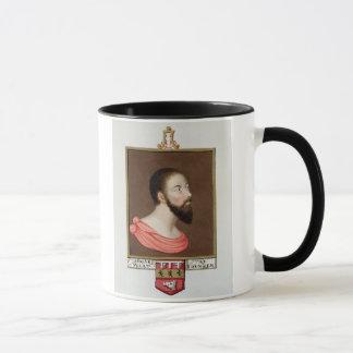 Portrait of Sir Thomas Wyatt the Younger (c.1521-5 Mug