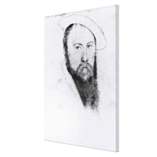 Portrait of Sir Thomas Wyatt the Younger Canvas Print