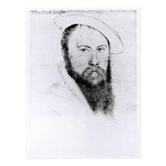 Portrait of Sir Thomas Wyatt the Younger Postcard