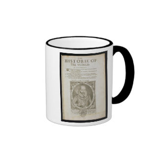 Portrait of Sir Walter Raleigh (1554-1618) title p Mug