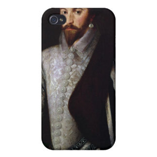 Portrait of Sir Walter Raleigh 1588 iPhone 4 Cover