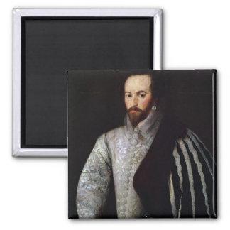 Portrait of Sir Walter Raleigh  1588 Magnet