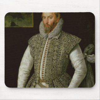 Portrait of Sir Walter Raleigh, 1598 Mouse Pad