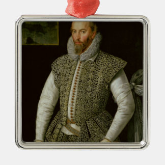 Portrait of Sir Walter Raleigh 1598 Ornaments