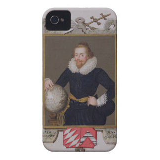 Portrait of Sir Walter Raleigh (c.1552-1618) from Case-Mate iPhone 4 Case