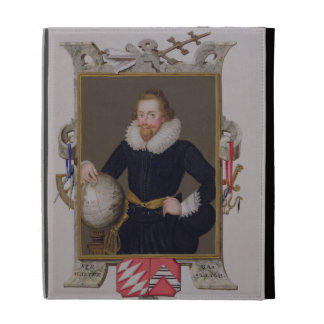 Portrait of Sir Walter Raleigh (c.1552-1618) from iPad Cases