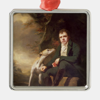 Portrait of Sir Walter Scott and his dogs Ornaments