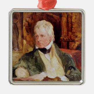 Portrait of Sir Walter Scott Christmas Tree Ornament