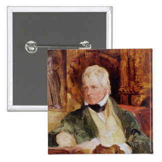 Portrait of Sir Walter Scott Pinback Button