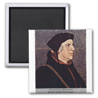 Portrait Of Sir William Butts Refrigerator Magnet