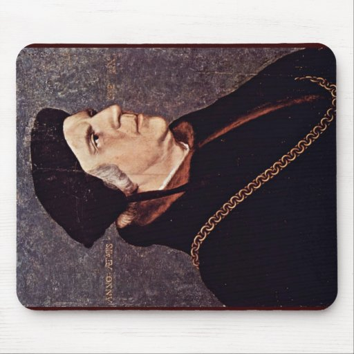 Portrait Of Sir William Butts Mouse Pad