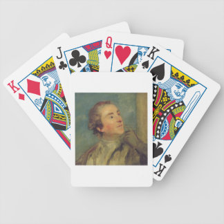 Portrait of Sir William Chambers (1726-96) (oil on Bicycle Playing Cards