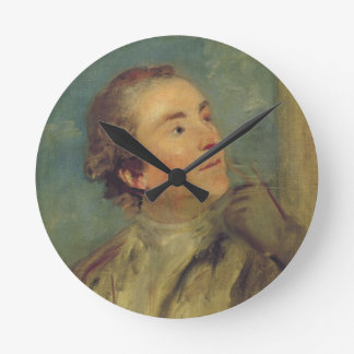 Portrait of Sir William Chambers (1726-96) (oil on Round Wall Clock