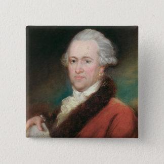 Portrait of Sir William Herschel  c.1795 Pinback Button