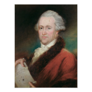 Portrait of Sir William Herschel  c.1795 Poster