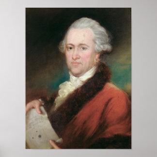 Portrait of Sir William Herschel  c.1795 Poster
