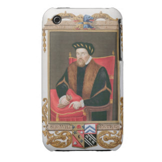 Portrait of Sir William Petre (c.1505-72) from 'Me Case-Mate iPhone 3 Case