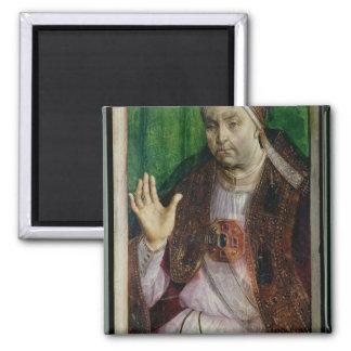 Portrait of Sixtus IV  c.1475 2 Inch Square Magnet