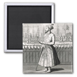 Portrait of Sjah Dijhaan Magnet
