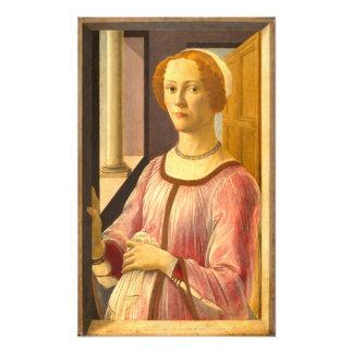 Portrait of Smeralda Bandinelli by Botticelli Photo