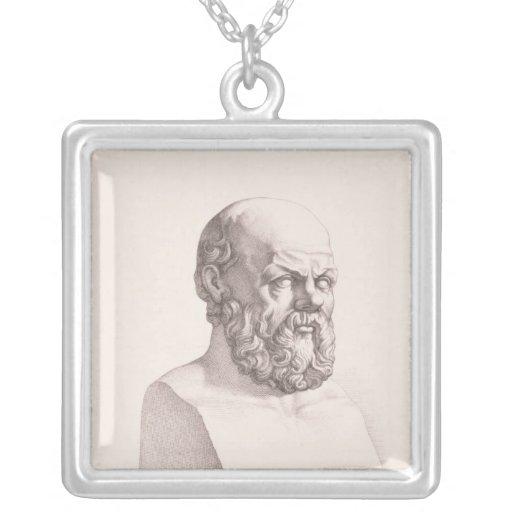 Portrait of Socrates Custom Jewelry