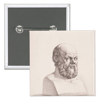 Portrait of Socrates Pinback Button