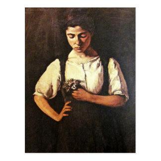 Portrait of sofia postcard